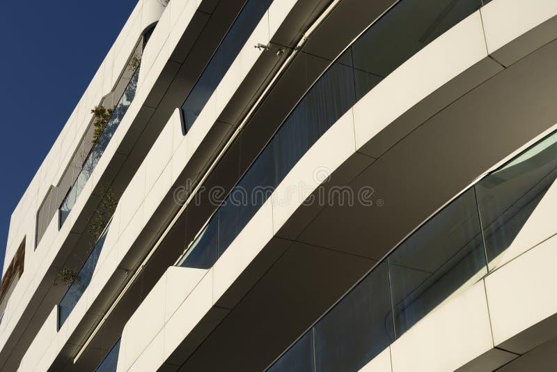 Современные здания на Citylife, милане стоковая фотография