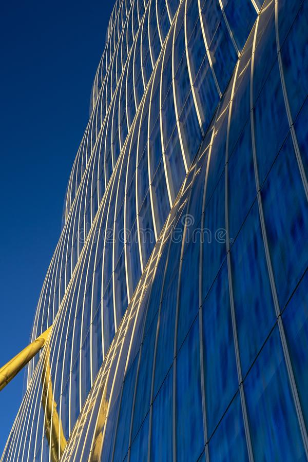 Современные здания на Citylife, милане стоковые фото