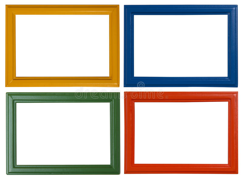Современные картинные рамки стоковое фото rf