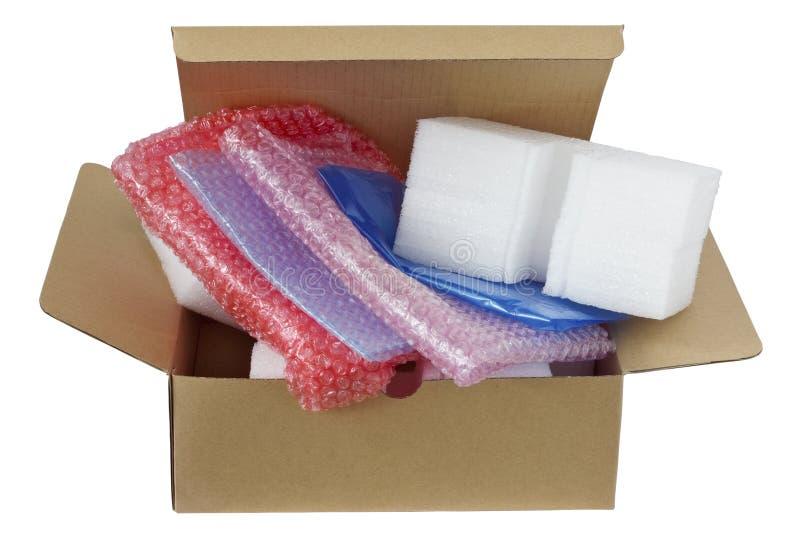 Современные пластичные материалы упаковки стоковое фото