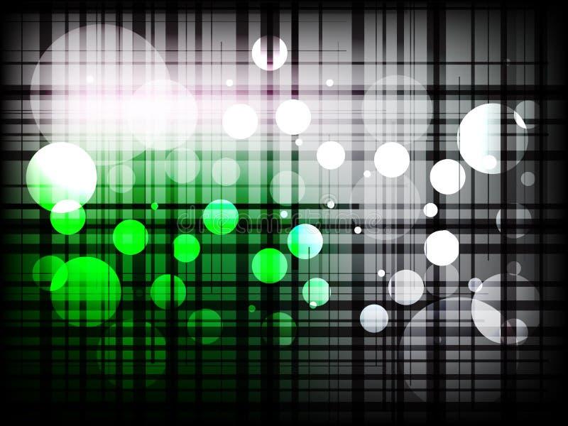 Современные chequered линии с предпосылкой точек абстрактной бесплатная иллюстрация