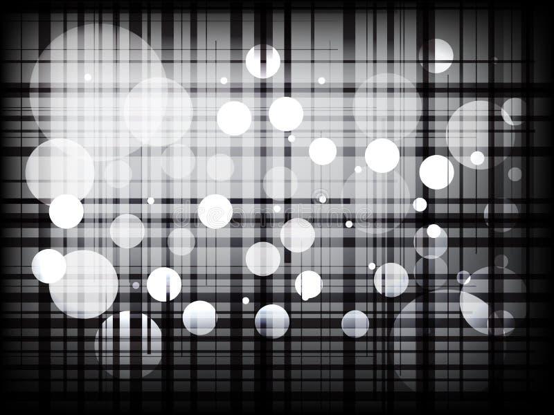Современные chequered линии с предпосылкой точек абстрактной иллюстрация штока