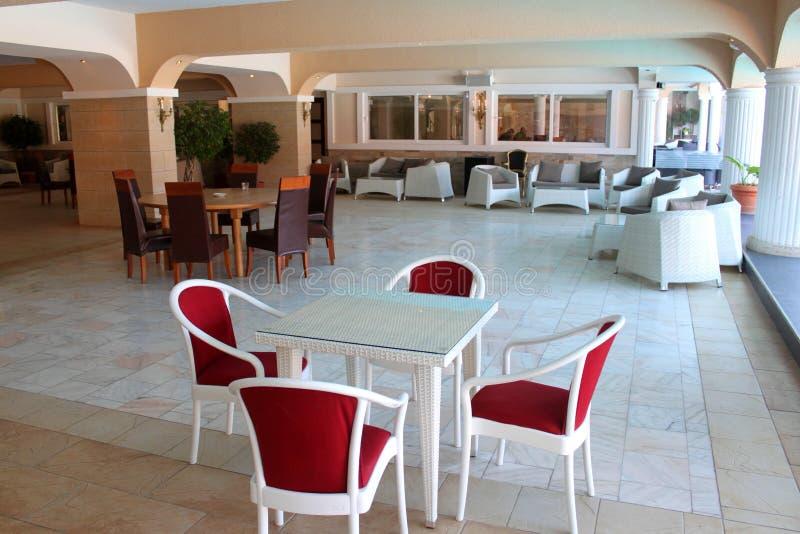 Современный бар мебели стоковая фотография rf