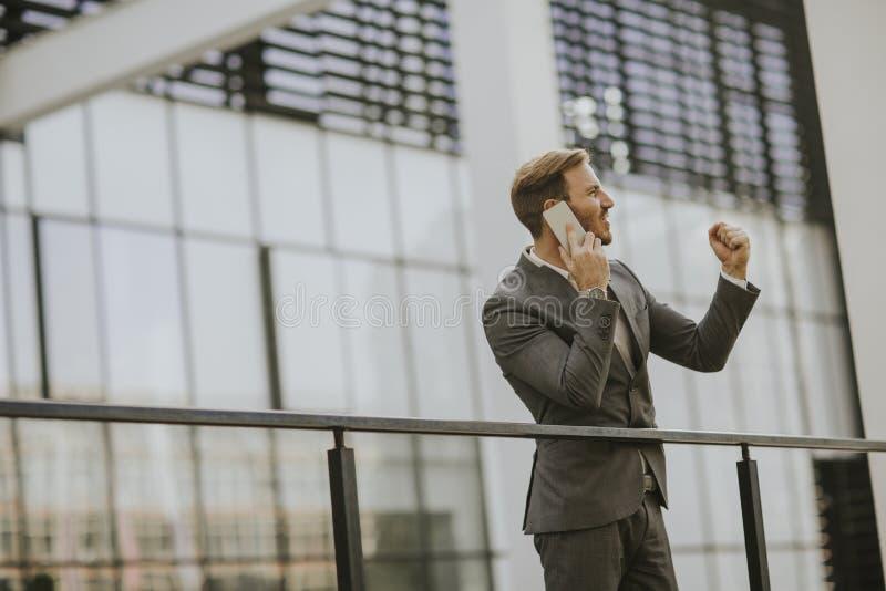 Современный бизнесмен стоковое изображение