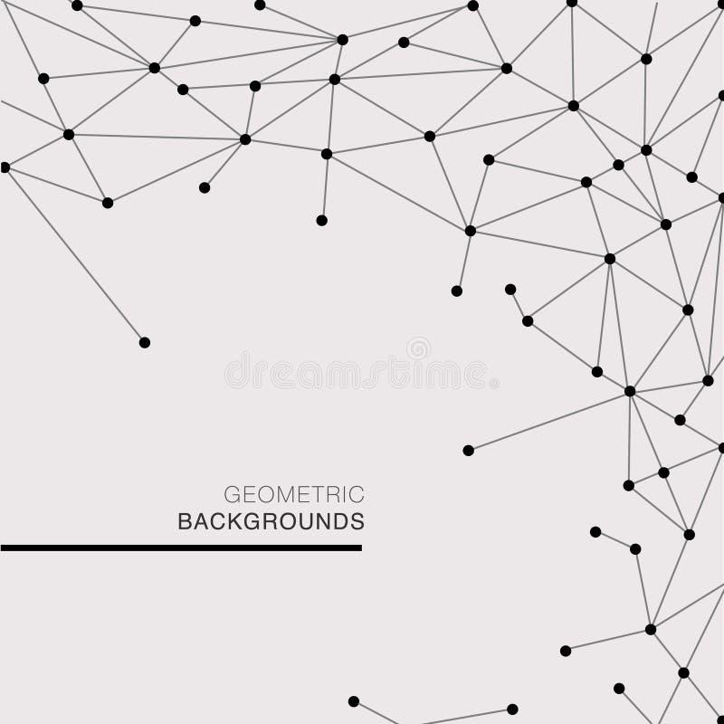 современный геометрический шаблон бесплатная иллюстрация