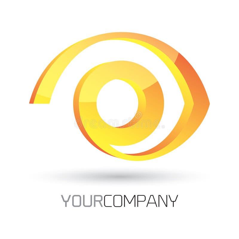 Современный дизайн логотипа иллюстрация вектора