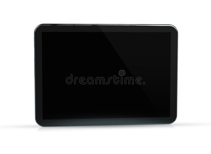 Современный модель-макет планшета изолированный на белом переводе 3d бесплатная иллюстрация