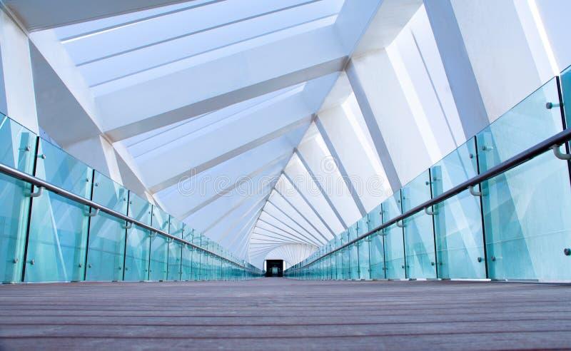 Современный мост Дубай спирали дизайна архитектуры стоковая фотография rf