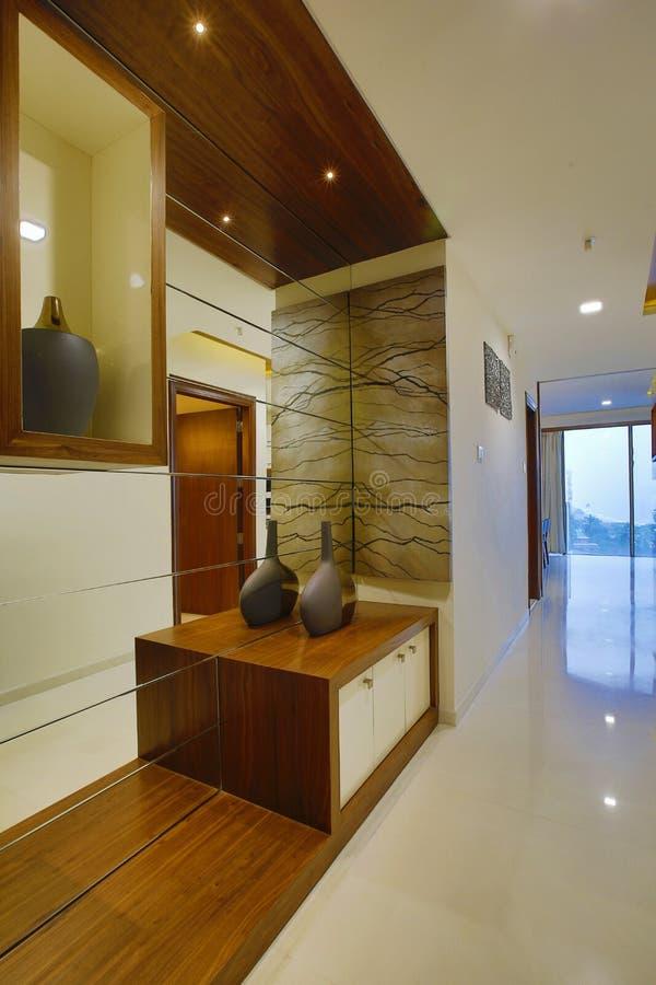 Современный домашний интерьер, Calicut, Индия стоковое фото