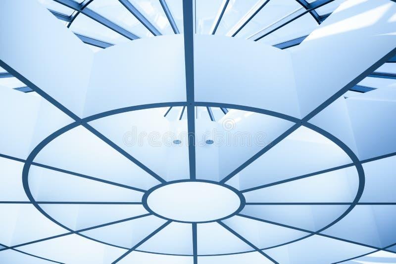 Современный потолок круга стоковые изображения rf