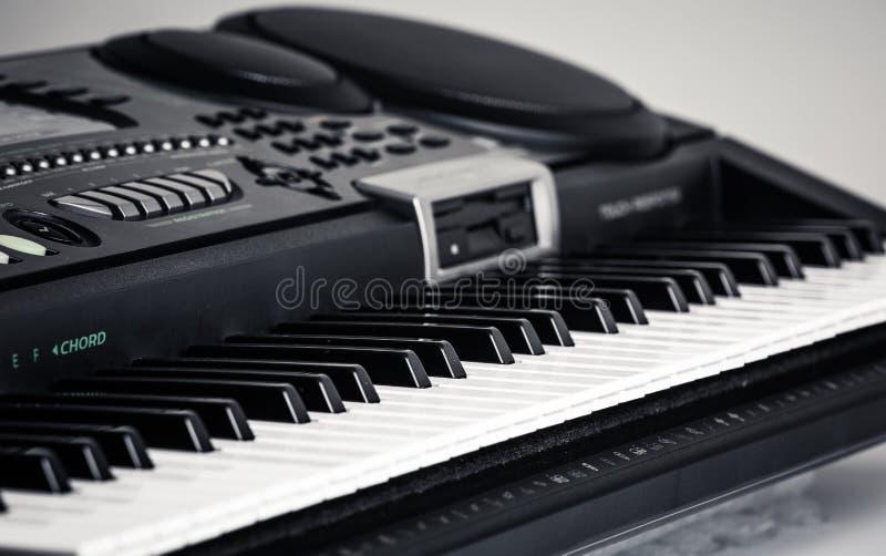 Современный рояль цифров стоковые изображения rf