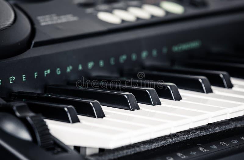 Современный рояль цифров стоковое изображение