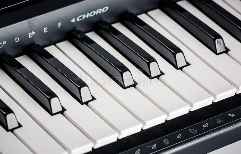 Современный рояль цифров стоковая фотография rf
