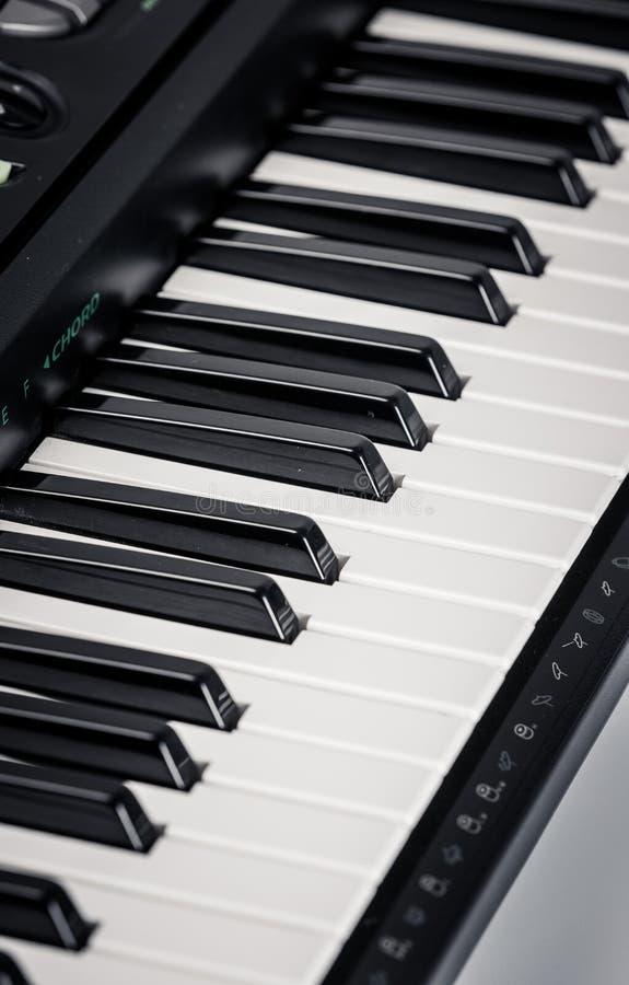 Современный рояль цифров стоковое изображение rf
