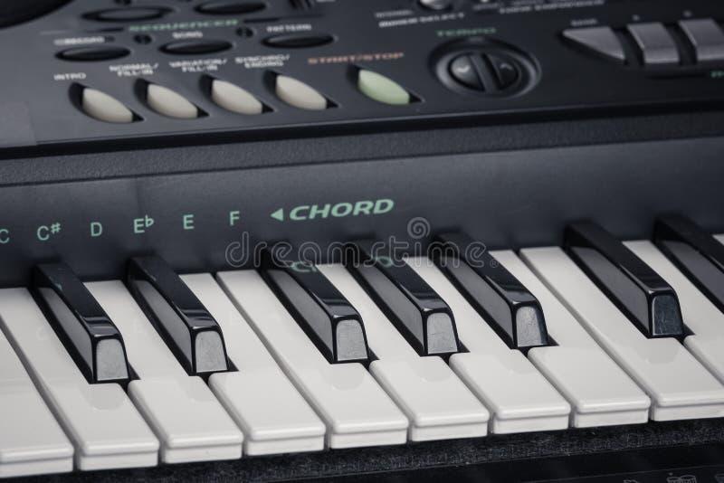 Современный рояль цифров стоковое фото rf