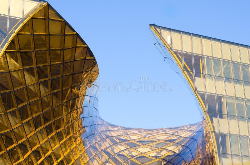 Современный торговый центр стоковое изображение