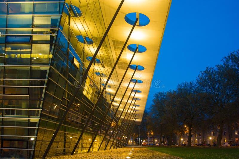 Современный университет здания стоковое фото