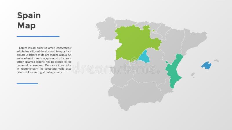 Современный шаблон Infographic иллюстрация штока