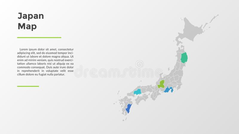 Современный шаблон Infographic иллюстрация вектора