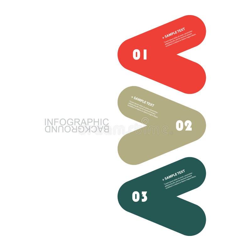 Современный шаблон Infographic дела - минимальный дизайн срока бесплатная иллюстрация