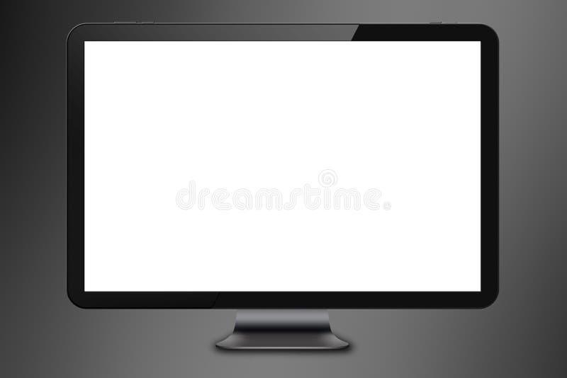 Современный экран компьютера бесплатная иллюстрация