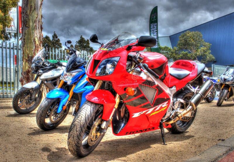 Download Современный японский построенный мотоцикл Honda Редакционное Стоковое Фото - изображение насчитывающей экспо, классицистическо: 81804518