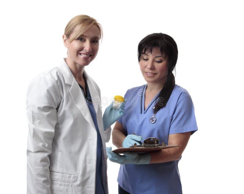 содружественные работники медицинского соревнования стоковая фотография