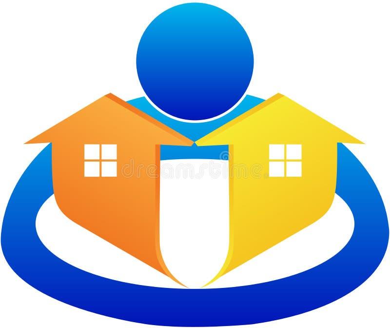 Содружественный дом иллюстрация вектора