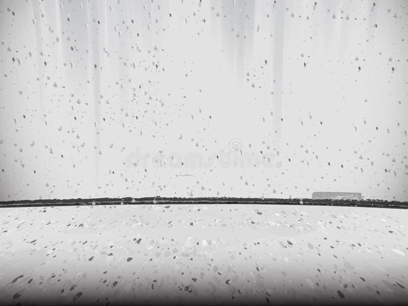 Соединение бетонной стены и пола, текстурированной предпосылки стоковые фотографии rf