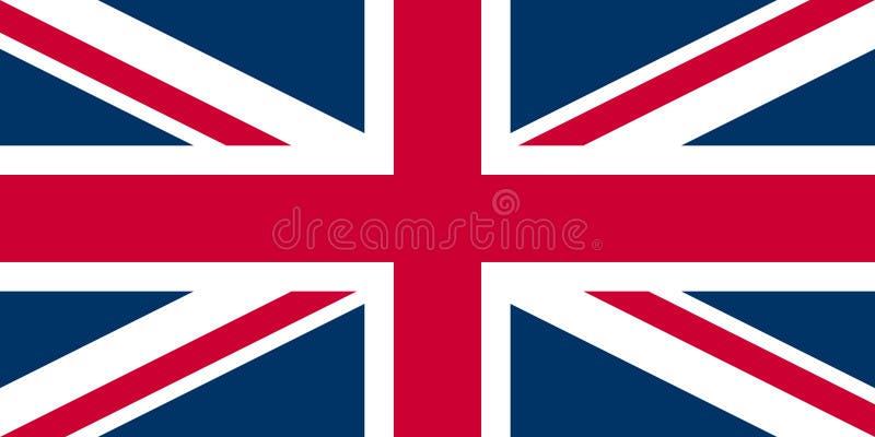 соединение Великобритании jack флага иллюстрация вектора
