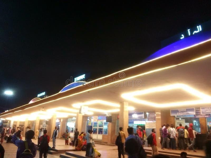 Соединение Allahabad в pryagraj стоковая фотография