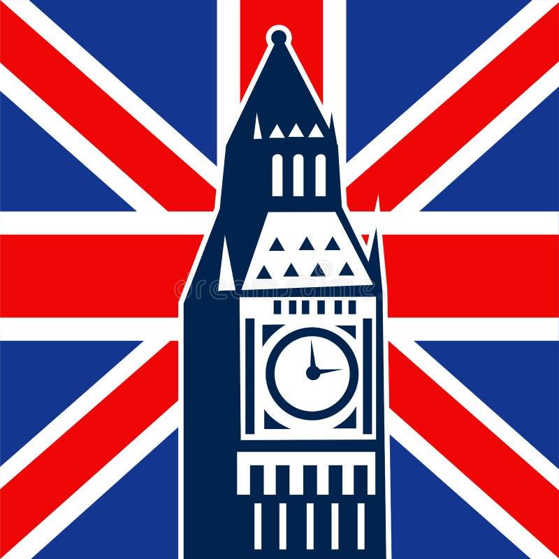 соединение london jack флага ben большое великобританское бесплатная иллюстрация