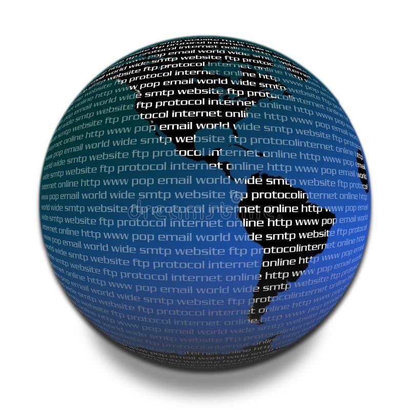 Download соединенная планета иллюстрация штока. иллюстрации насчитывающей широко - 86389