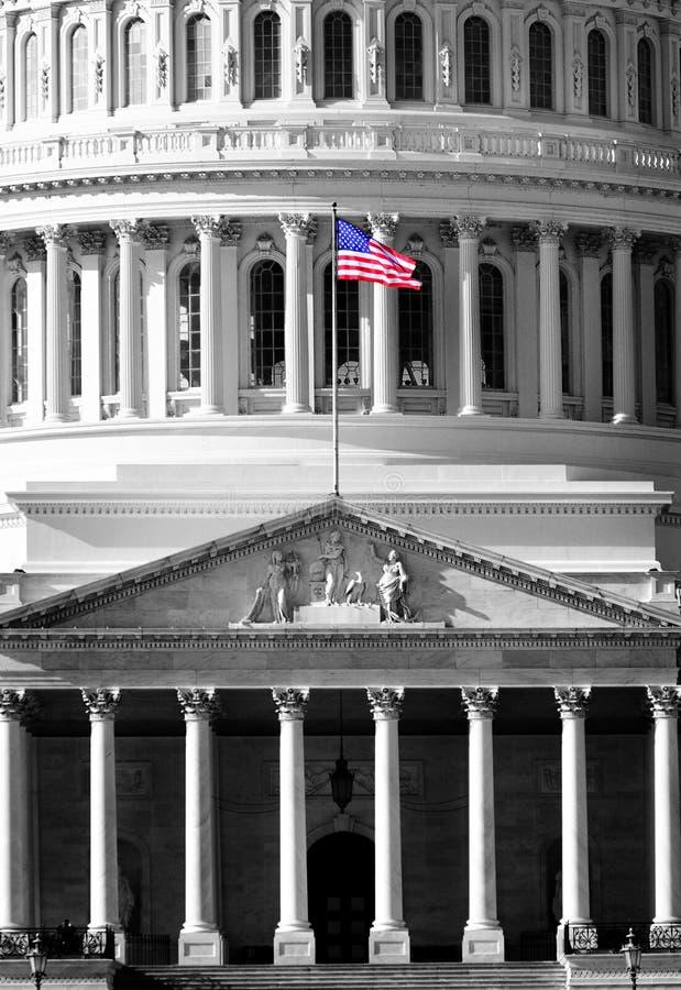 Соединенное здание капитолия положения стоковое изображение rf