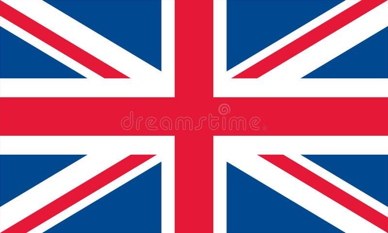 соединенное королевство флага иллюстрация вектора