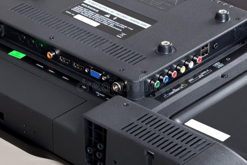 Соединитель ТВ стоковая фотография rf