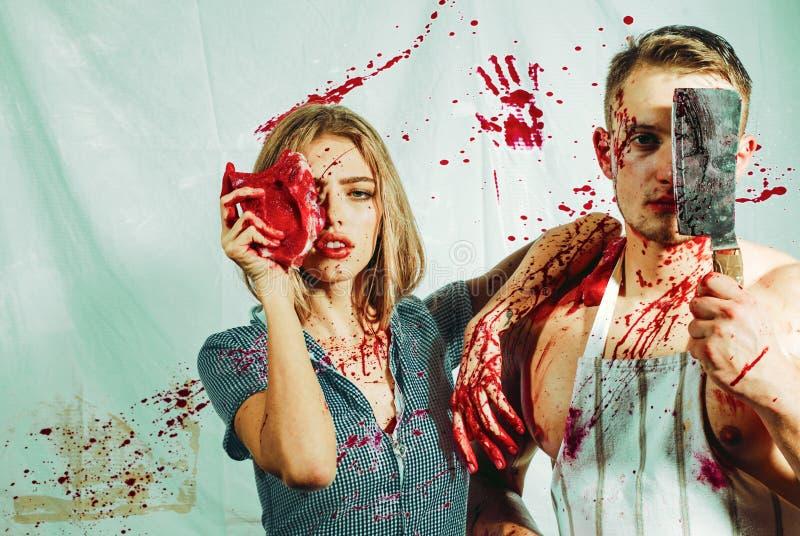 Соедините в крови человеческая торговля внутреннего органа зомби медицинская трансплантация людоедство пожертвование и donar meat стоковое фото