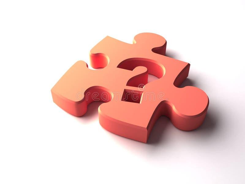 соедините головоломку иллюстрация вектора