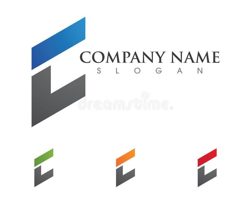 Соединяясь шаблон логотипа концепции иллюстрация штока