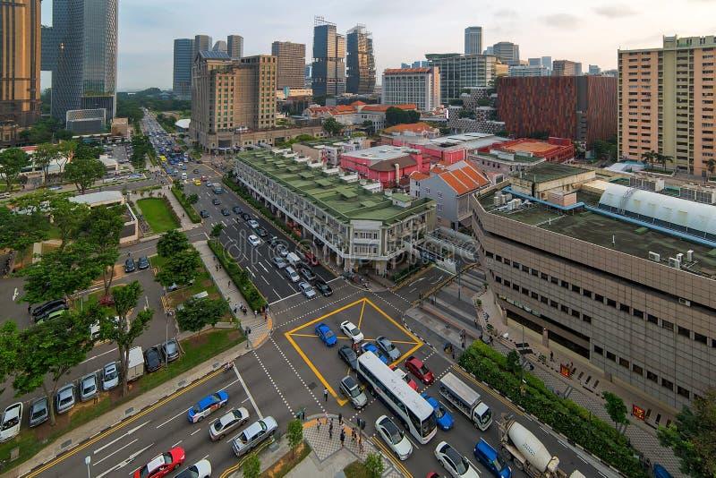 Соединение деревни Bugis в районе развлечений Сингапура стоковые фото
