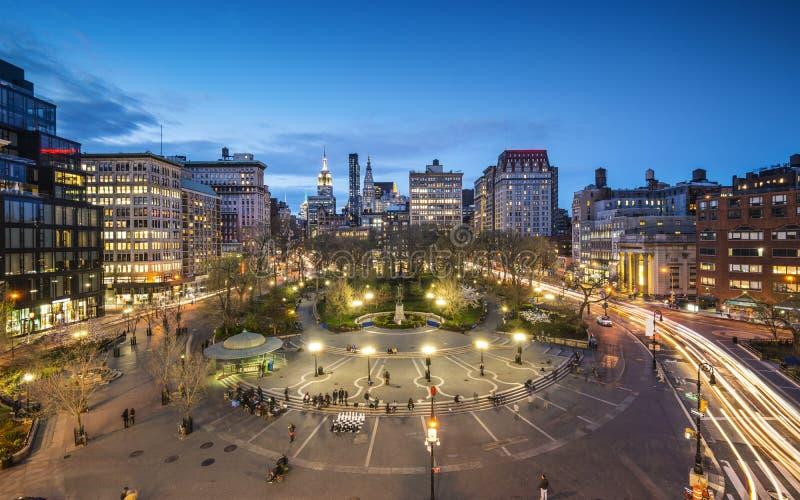 Соединение квадратное NYC стоковые фотографии rf
