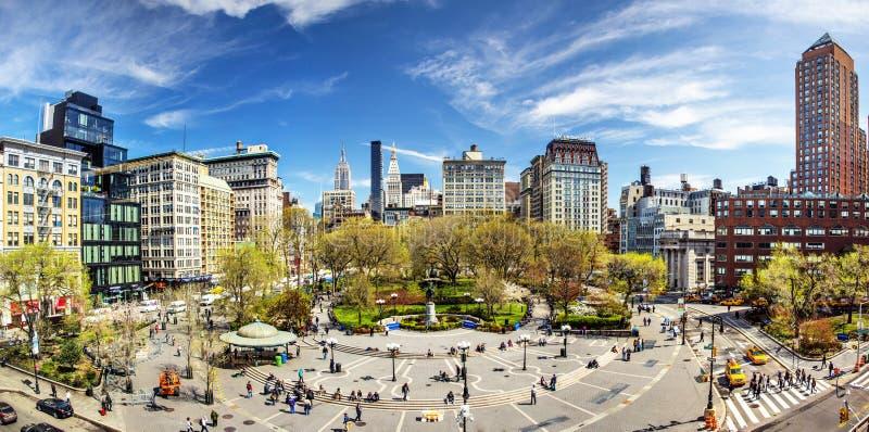 Соединение квадратный Нью-Йорк стоковое изображение