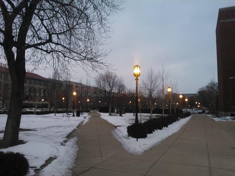 Соединение централи университета Purdue стоковая фотография