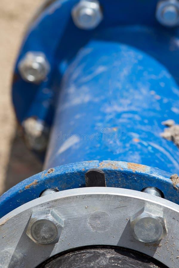Соединения трубы металла стоковые фотографии rf