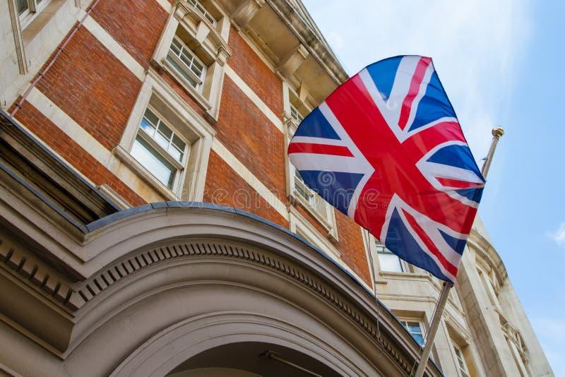 соединенное королевство флага стоковые изображения rf