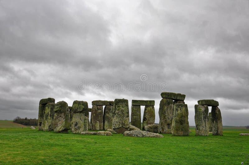 соединенное stonehenge съемки королевства hdr стоковое изображение