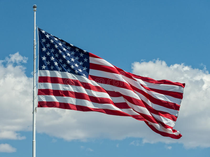 соединенные государства флага стоковые фото