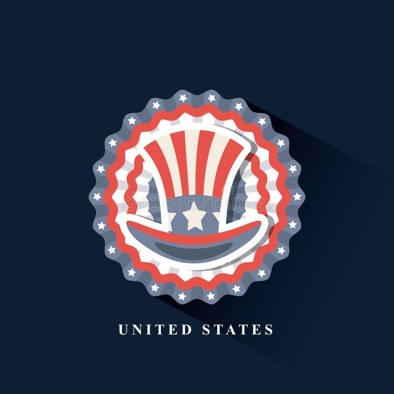 Соединенные Штаты конструируют иллюстрация штока