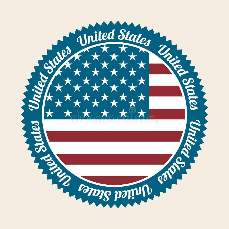 Соединенные Штаты бесплатная иллюстрация