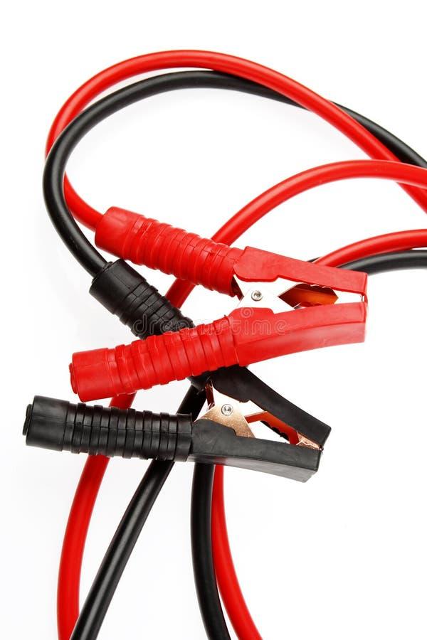 Соединительные кабели стоковая фотография